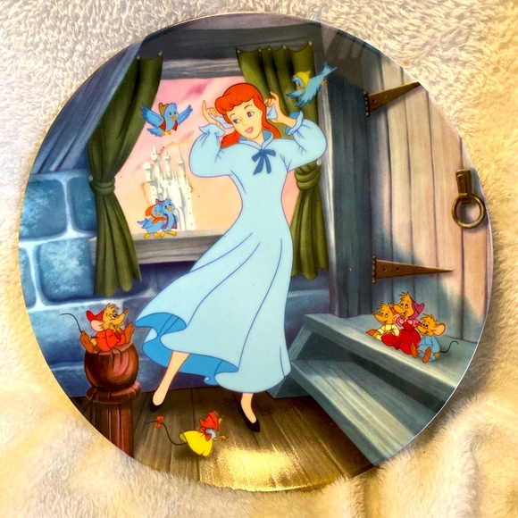 Disney Cinderella collectors Knowles Plate 1989